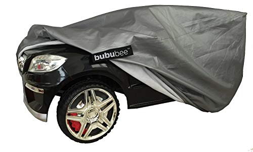 Bububee Large Children's Ride-On Toy Car Cover - UV Rain Snow Water Resistant Protection for Electric Power Wheels