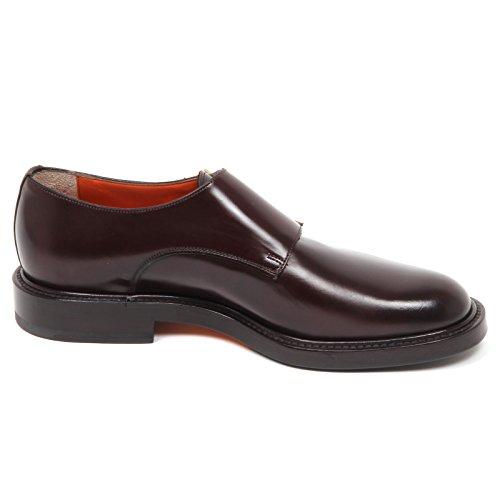Uomo Scarpe Scarpa Shoe Brown Marrone E1228 SANTONI Man R67xqPE