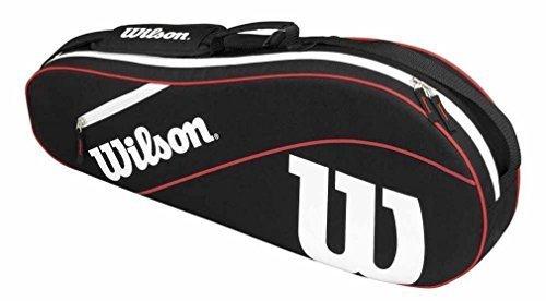 Wilson Advantage III Triple Racket Bag – Black by Wilson