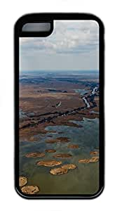 iPhone 5C Case Nice Panoram From Helicopter TPU Custom iPhone 5C Case Cover Black