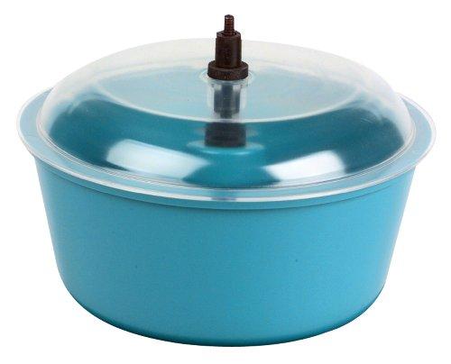 Raytech 23-005 Polyethylene Bowl with Lid, 0.05 Cubic feet Capacity, 8