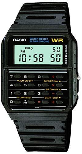 Casio Men's Vintage CA53W-1 Calculator Watch from Casio