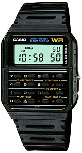 : Casio Men's Vintage CA53W-1 Calculator Watch