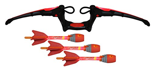 Zing Air Storm Fire Tek Bow, Red (Red Arrow Bow And)