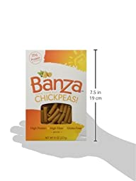 Banza Chickpea Pasta, Penne 8 Ounces (Pack of 3)
