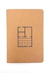 Pack de 5 Libretas TAV Especializadas para Arquitectura A5 Laika Notebooks