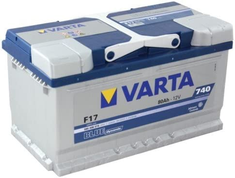 Batería de coche Varta F17 Blue Dynamic 80 Ah