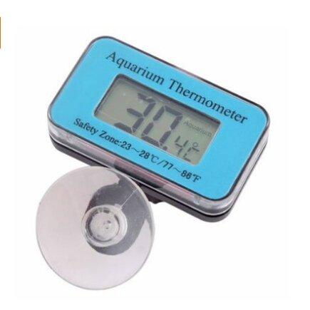 BuyinCoins, Wasserdichtes Thermometer mit LCD-Anzeige f¨¹r Aquarium