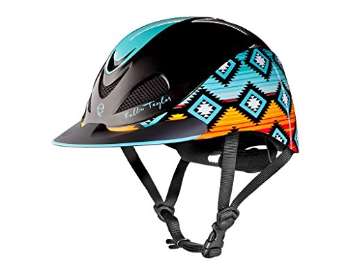 Troxel Fallon Taylor Performance Helmet, Sunset Serape, Medium (Riding Western Helmets)
