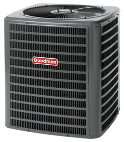 3 Ton Goodman 18 SEER R-410A Two-Stage Air Conditioner Condenser