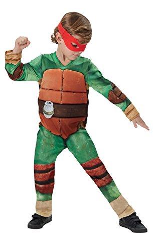 New Deluxe Teenage Mutant Ninja Turtles - Kids Costume 5 - 6 (Turtle Shell Costume Uk)