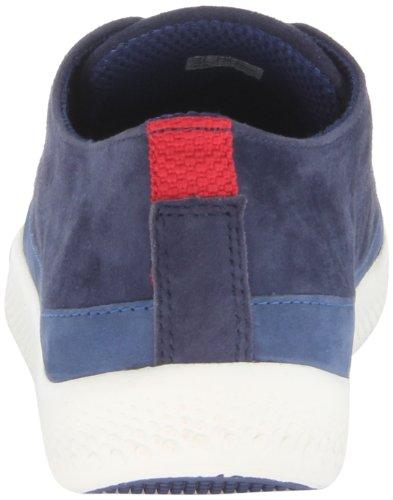 Fitflop Super T Sneaker Suede - Zapatillas de cuero para mujer Azul - French Navy