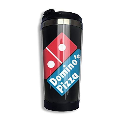 YOHHOY Domino's Pizza Custom Coffee Cups with Lids 14 OZ Morning Tea Cup Travel Tumbler Mug