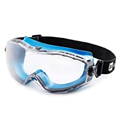 Why are our safety glasses ahead of the competition?       - The lenses of the safety glasses are multi coated. This complex process makes the lenses particularly scratch-resistant, protects your eyes from harmful UV light and ensures ...