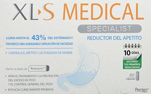 XLS Medical  - Cápsulas reductoras del apetito. Tratamiento y prevención del exceso de peso y control general del peso 2