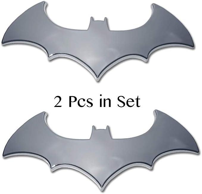 Creative 3D Bat Batman Auto Car Badge Emblem Sport Rear Stickers Supplies T