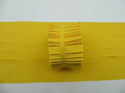 20 Strips Kona Cotton Corn Yellow 2.5