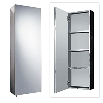 Bathroom Cabinet Storage 900 x 300 Stainless Steel Wall Mounted ...