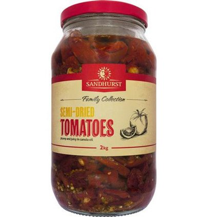 Sandhurst Fine Foods Semi Dried Tomatoes 2kg
