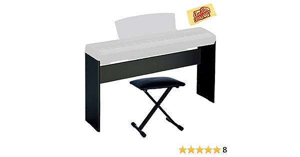 Yamaha L-85 madera digital Piano soporte Bundle para P-35 ...