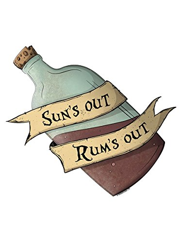 Herren Tank Top Sun's Out Rum's Out weiß