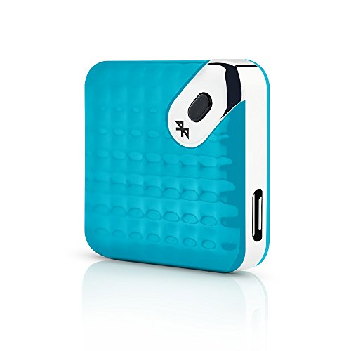M-TRACKR Mobile Key Finder Bluetooth Tracker – The Smart Item Finder for Your Keys, Wallet, Smartphone, Phone, Purse, Bag – Doubles as a Camera Trigger (Turquoise)