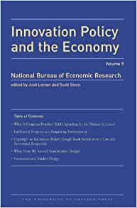 Innovation policy and the economy 2008 volume 9 national bureau of economic research - Bureau for economic research ...