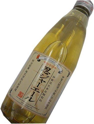 Iga-ryu ginger carbonated beverages (ground cider) Ota Shuzo Shinobu jar ale 350ml (ginger ale) by Shinobu jar ale