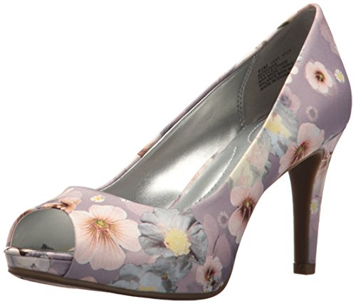 Bandolino Women's Rainaa Pump, Lilac Multi, 9 M - Women Purple Pump