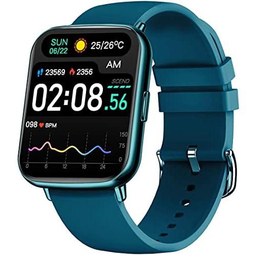 """Bengux Smartwatch,Reloj Inteligente Mujer Hombre,Pantalla TFT de 1,69"""", 24 Modos Deportivos,Impermeable IP68 con Monitor de Sueño Pulsómetros Cronómetros, Admite Android y iOS(Azul) a buen precio"""
