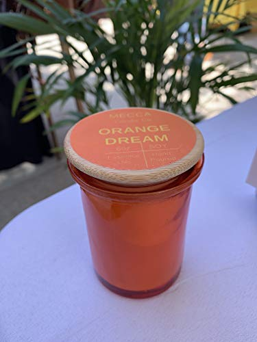Candle Dreams - ORANGE DREAM Soy Candle - 6oz