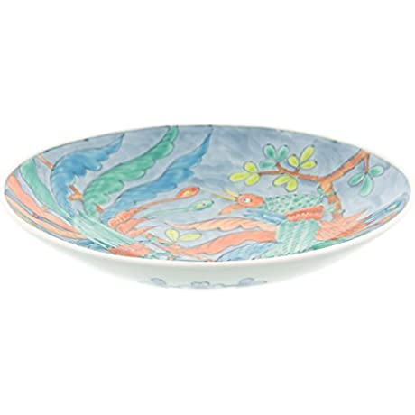 Hasami Yaki Phoenix 9 1inch Large Plate Ceramic Made In Japan