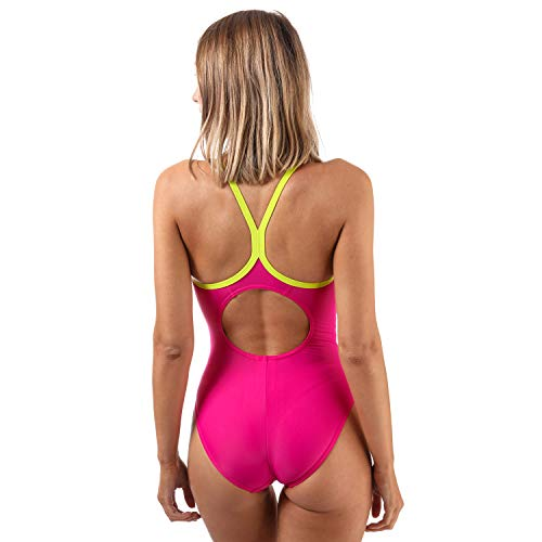 Maillot Thinstrap Rose 1 Speedo Femme Racerback Splice nbsp;pièce CqwW5tPR