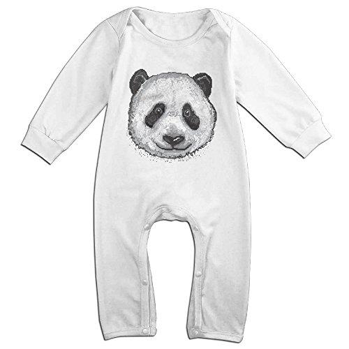 ALIPAPA Baby's Animal Pixel Panda Tee Shirt Size 12 Months