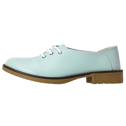 Bailarinas Mujer Azul Aleader Loafers Para gZxnB0