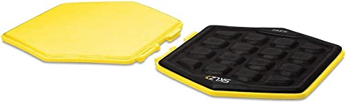 SKLZ Slidez Dual-Sided Exercise Glider Discs for Core Stability Exercises for Hands Feet, Standard Use