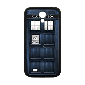 Blue police box Cell Phone Case for Samsung Galaxy S4