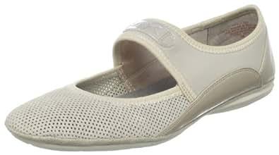 AK Anne Klein Sport Women's Sutter Mary-Jane Flat Color: Natural Women Shoe Size:: 12