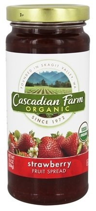 Cascadian Farm Organic Fruit Spread - Strawberry - 10 oz