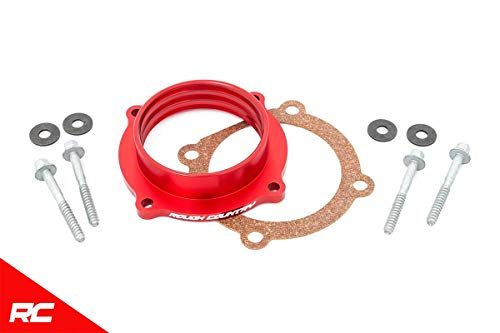Rough Country Throttle Body Spacer Compatible w/ 2012-2020 Jeep Wrangler JK JL JT Gladiator 3.6L 10561