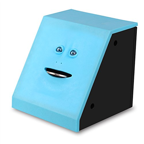 AOZBZ Face Bank, Face Money Eating Box Cute Facebank Piggy Bank for Coins Box Brick Automatic Money Coin Saving Bank for Children Toys Gifts Home Decoration by AOZBZ