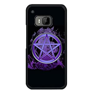Htc One M9 Phone Case, Pentagram and Pentacle Pattern Custom Durable Snap on Case for Htc One M9