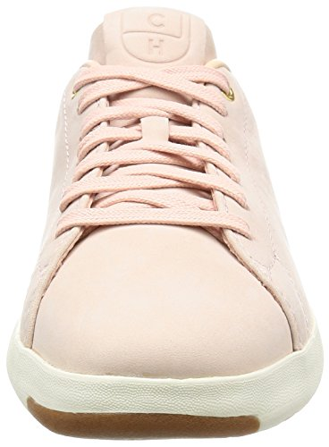 Ox Leather Sneaker Fashion Lace Womens Haan Tennis Seashell Grandpro Cole 6vwIPqYZ