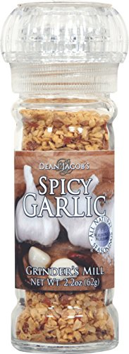 Dean Jacobs Grinder Spicy Garlic, 2.2-Ounce