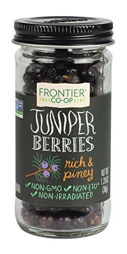 Frontier Whole Juniper Berries, 1.28 Ounce