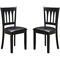 Milton Greens Stars Bilbao Dining Chair (Set of 2), Black