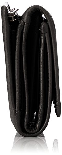 Portafogli Mandarina Donna Nero Mellow Portafoglio Leather Duck ZIcBAqIz
