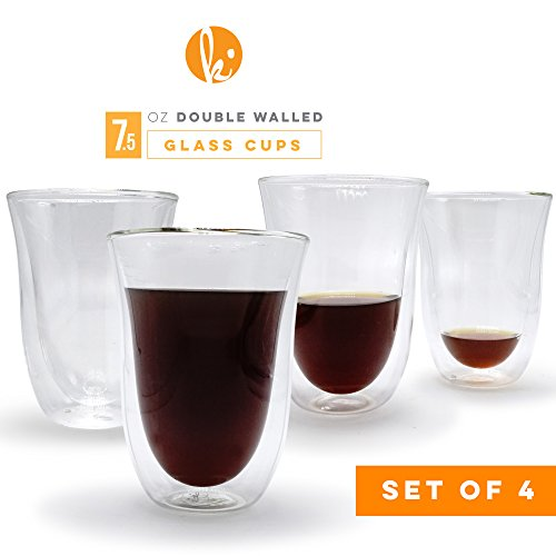 Reviewmetacom Pass Latte Cups Double Walled Coffee Glasses Set Of