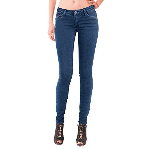 Women's Extreme Butt Lift Stretch Denim Jeans P46862SK Dark WASH 7