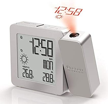 Radio Clock with Projection and clocksLunar Cycle Pro All in one
